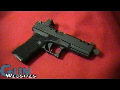 Custom Glockworx Glock 17 (RMR, G19 Mags)