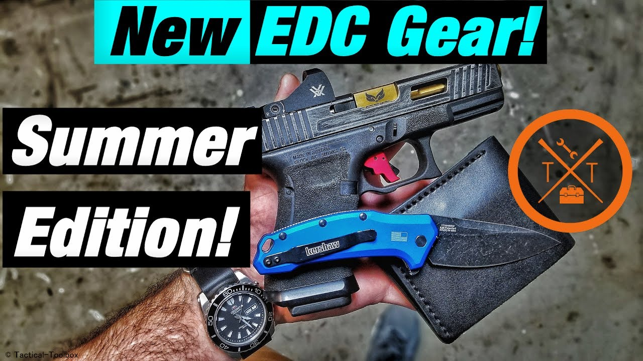 New Summer EDC Gear & Glock Mods For Carry