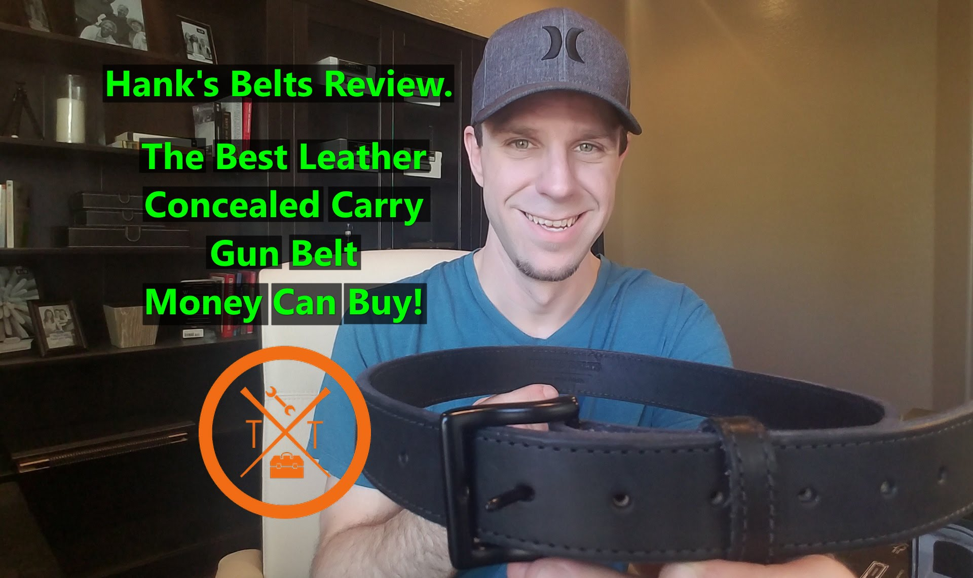 Hank's Belts Review & Giveaway! The Best Leather EDC/Concealed Carry Gun Belt!