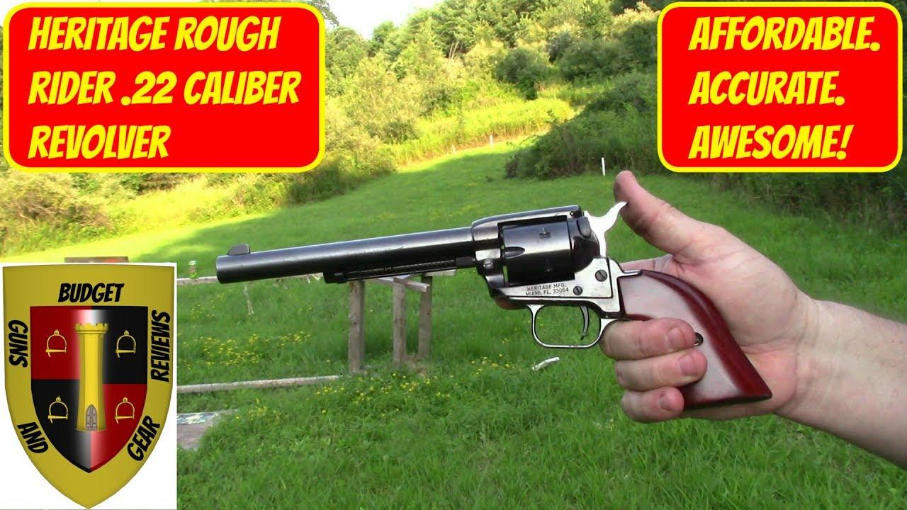 Heritage Rough Rider .22 revolver Range Report