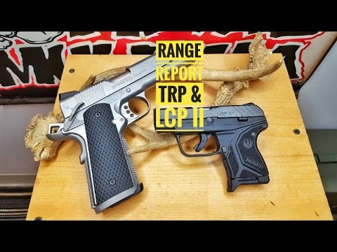 Range report with the Springfield TRP & Ruger LCP II