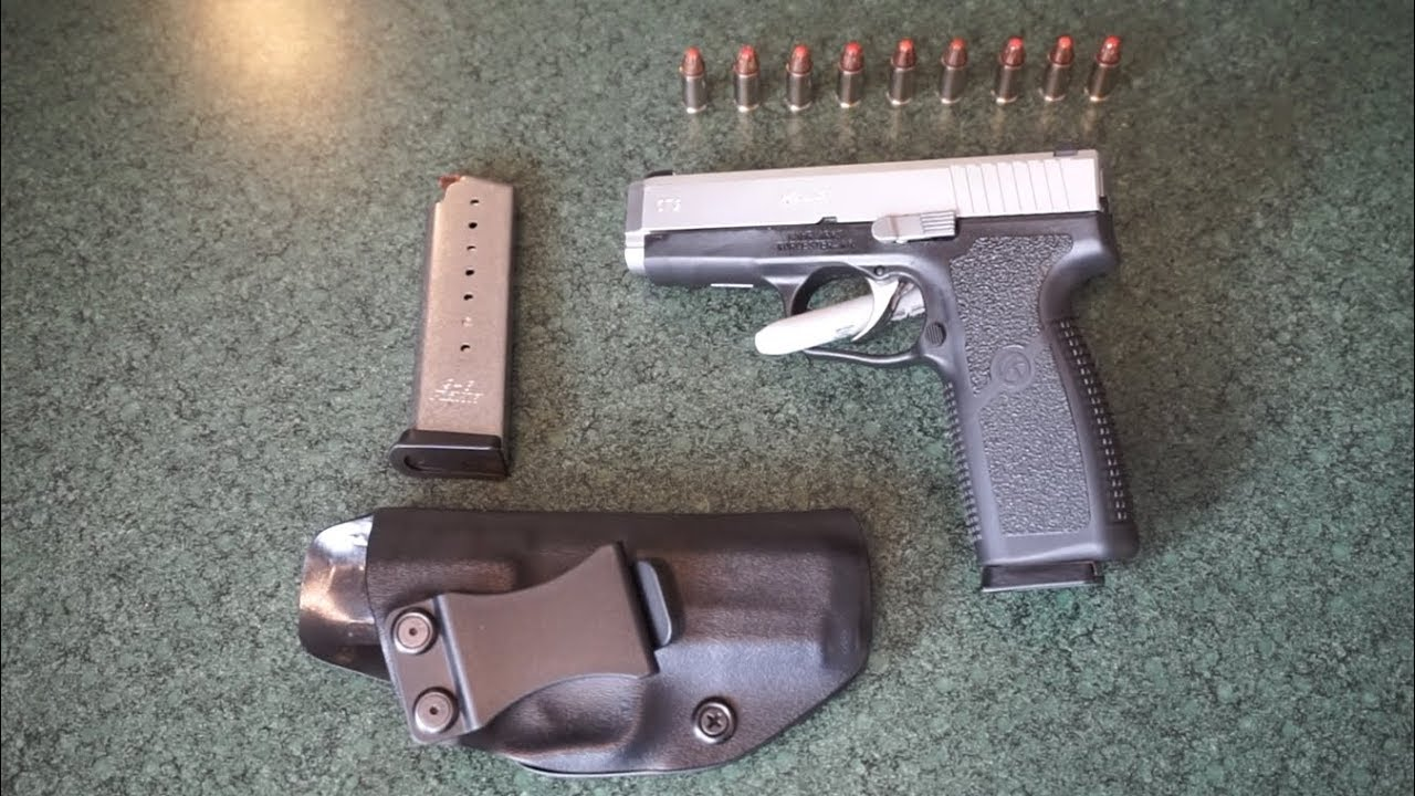 Kahr CT9 9mm Conceal Carry Pistol Tabletop Review!