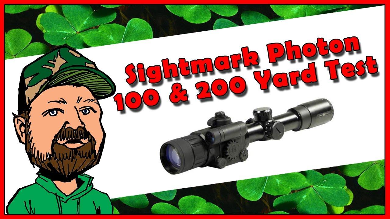 Sightmark Photon Night Vision Rifle Scope - Full Review & IR Options  - 100 & 200 Yard Range