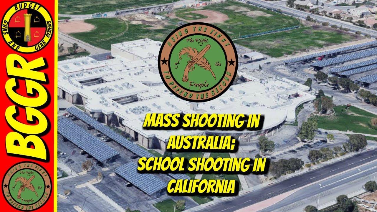 ROTP Single Shot 5-11-18; Mass Shooting in... Australia? School shooting in CA