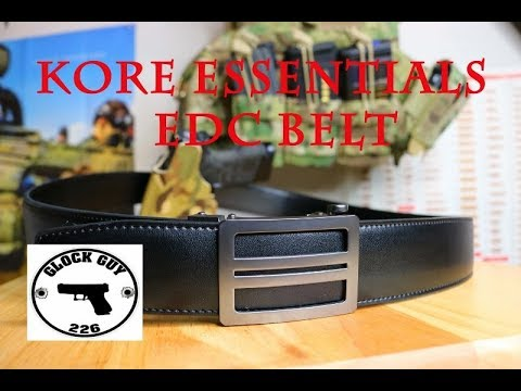 KORE ESSENTIALS GUN BELT (More Than A Gun Belt)