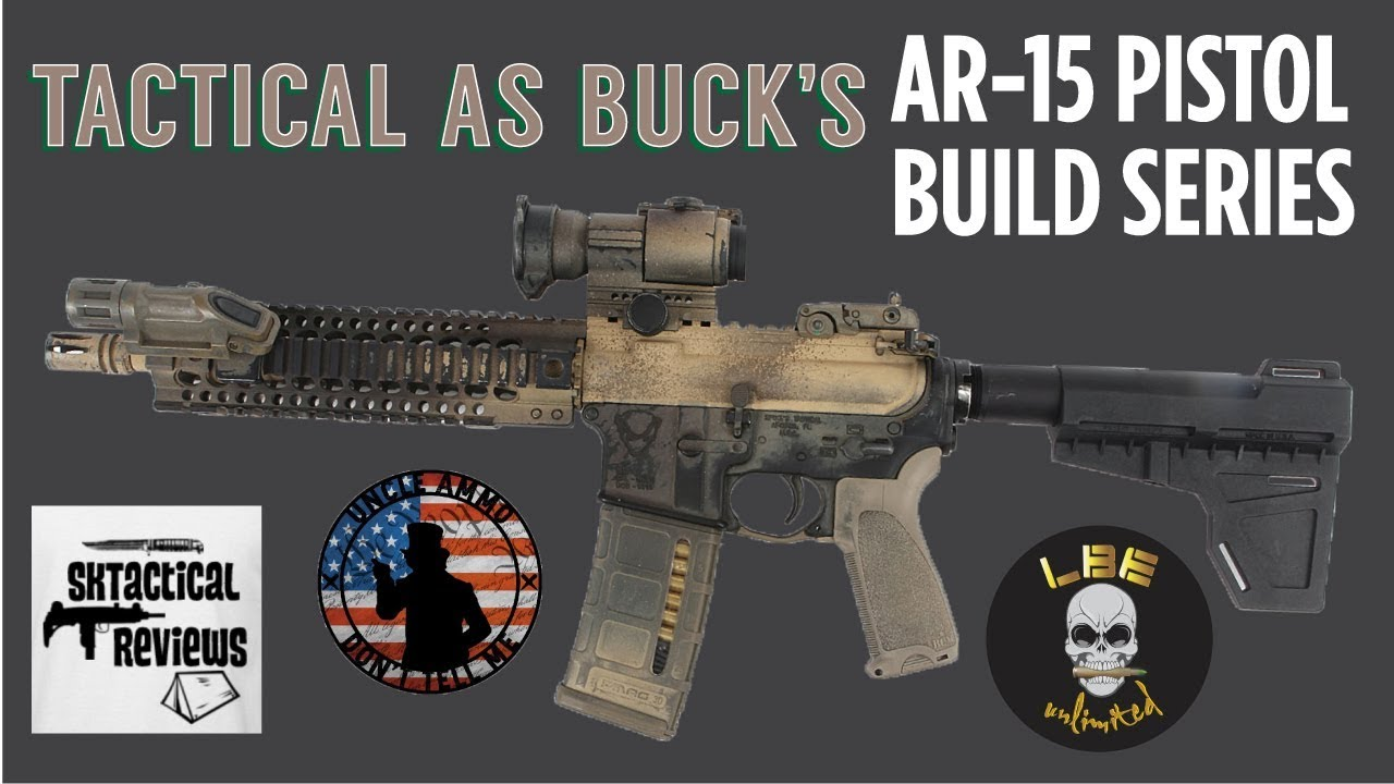 AR Pistol Build Episode 3: Upper Parts from LBE Unlimited & SB Tactical Brace!