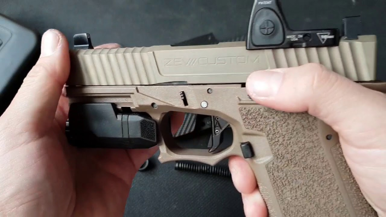 A follow up on Polymer80 and ZEV Trillo slide. SUCCESS!
