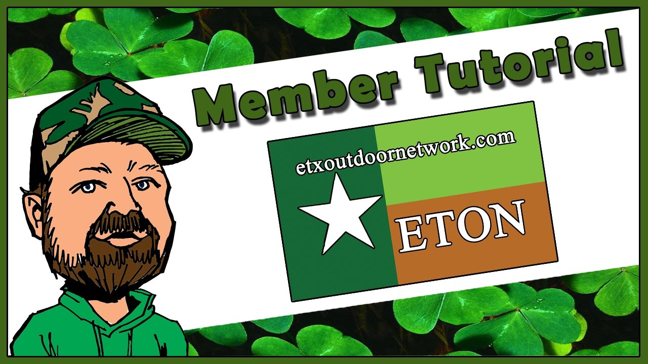 ETON Tutorial - Android - Post, Share, Bump & Delete - East Texas Outdoor Network