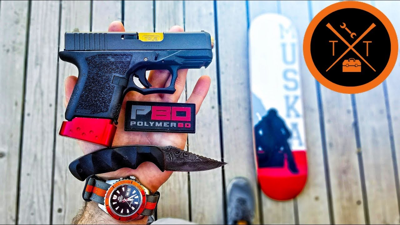 POLYMER 80 Custom Glock 26 Build // (TUTORIAL & COUPONS)
