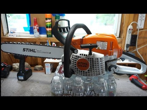 Stihl MS291 chainsaw.  Overview, field test, is it worth buying?