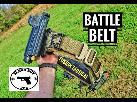 BATTLE BELT FROM FUSION TACTICAL
