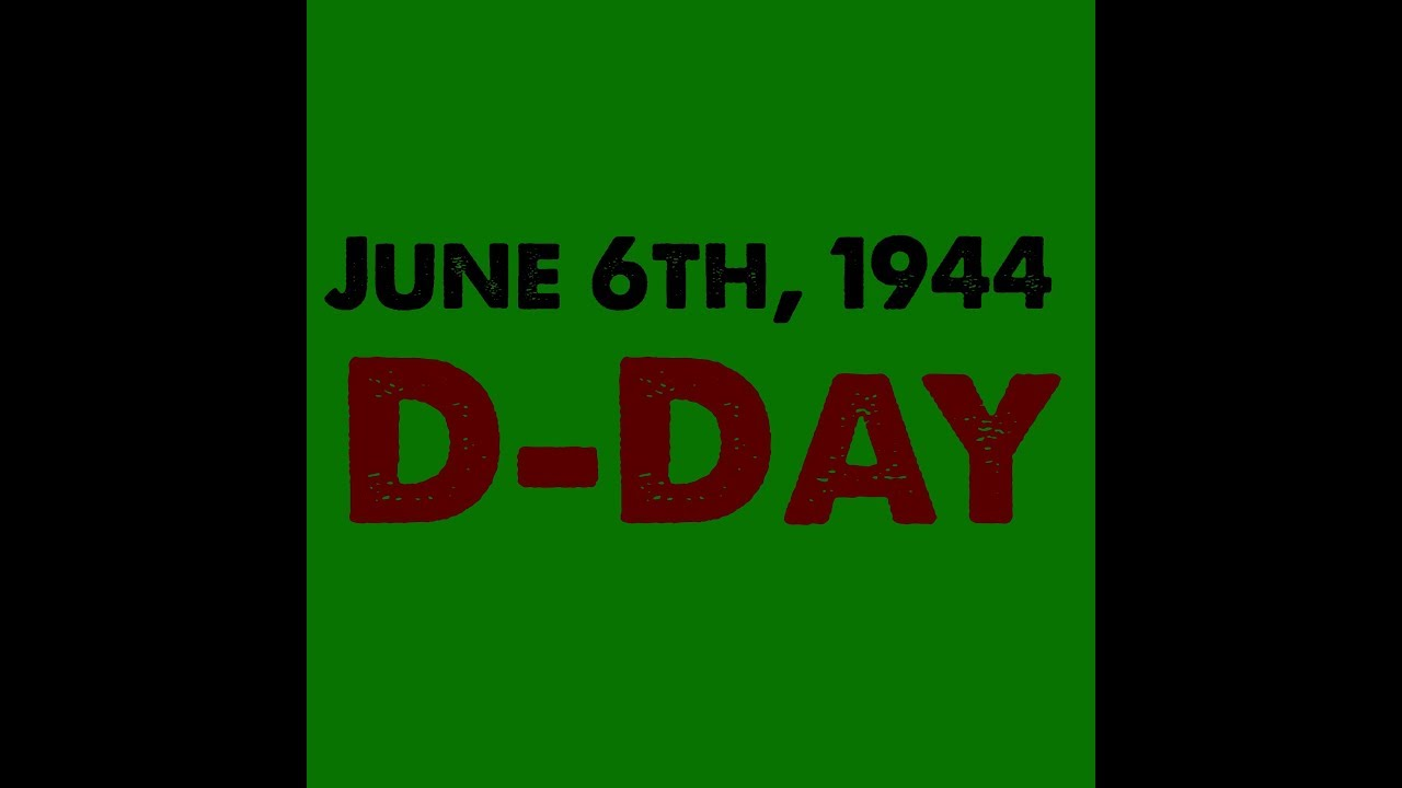 Anniversary of D-Day (1944)