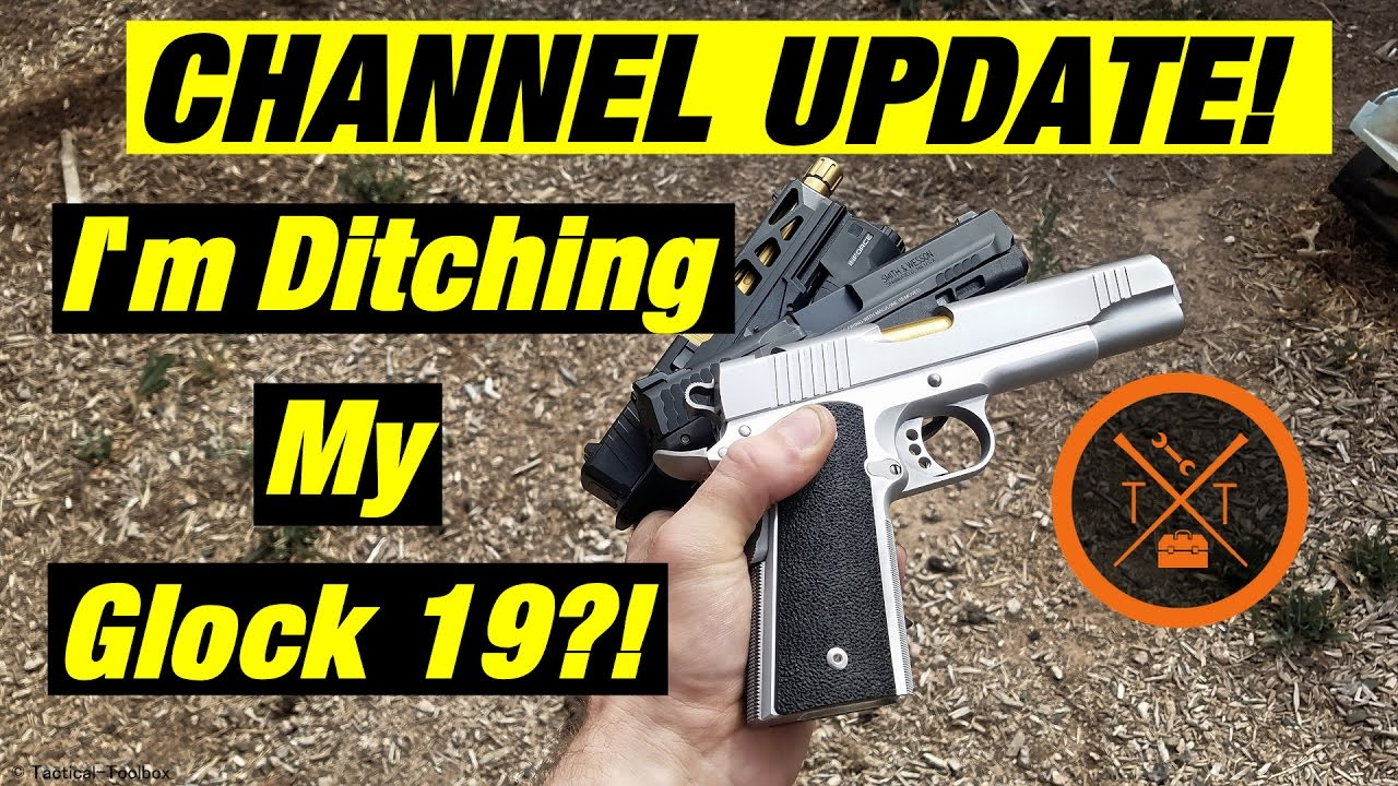 I'm Ditching My Custom Glock 19?! #PewTuber Adventure Time!