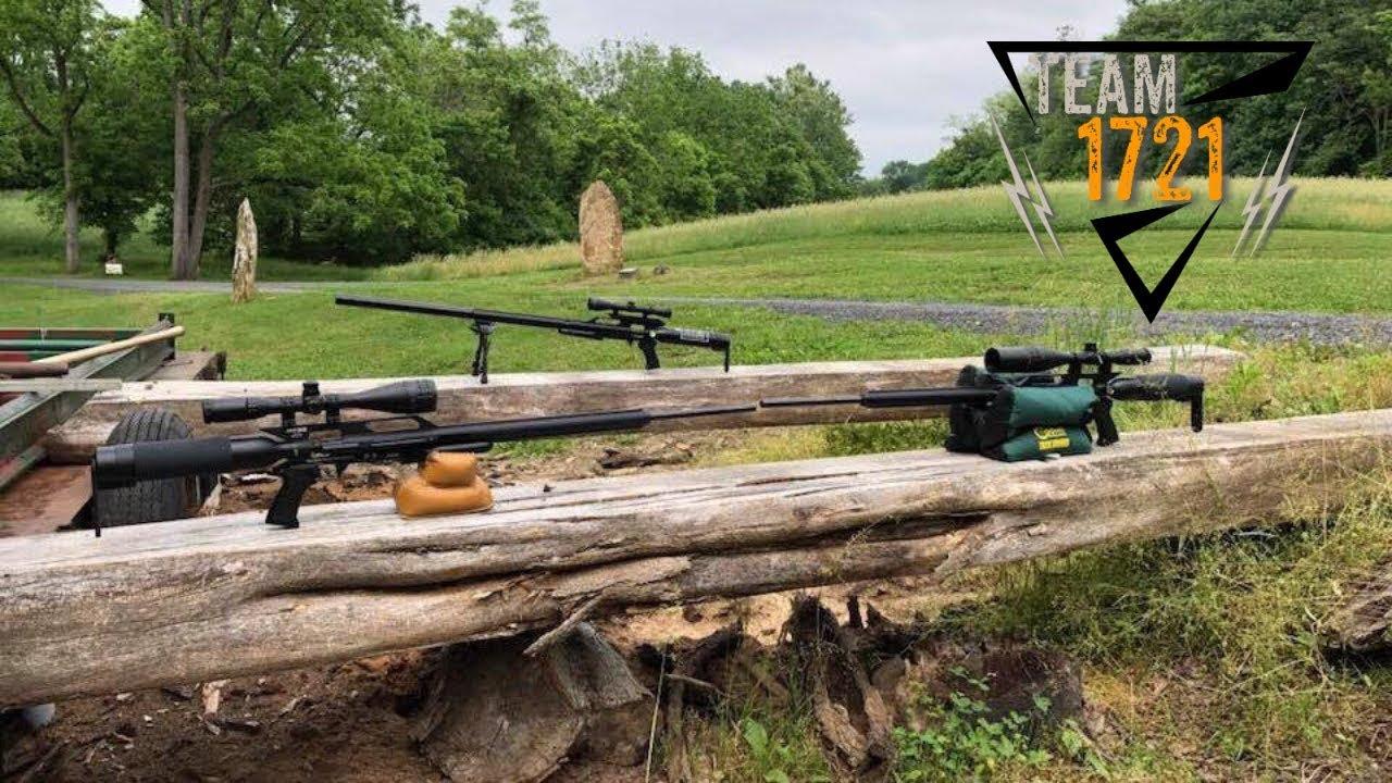 AirForce Texan Big Bore PCP Air Rifle Nielsen 357 178 Gr HP