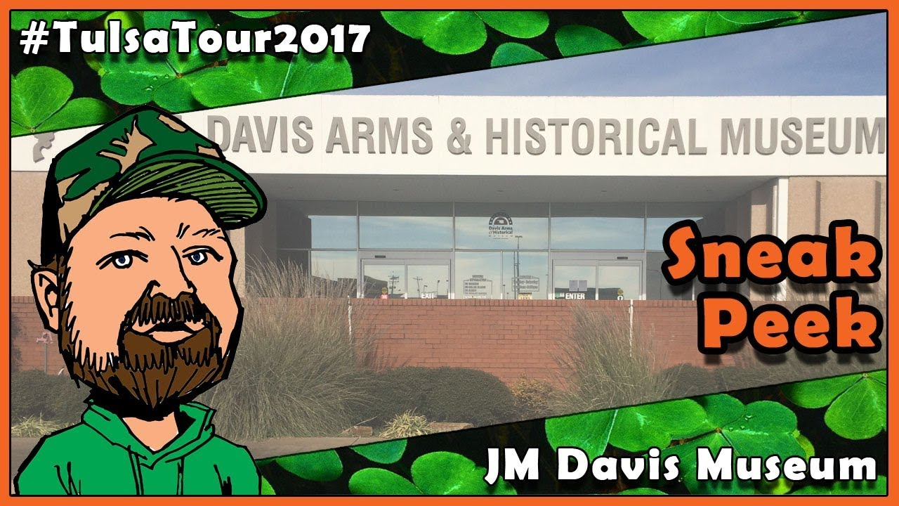 What Do YOU Wanna See? JM Davis Museum - CloverTac Tulsa Tour 2017