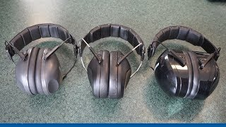 Range Test/Tabletop Review Pro For Sho 34db Noise Cancelling earmuffs