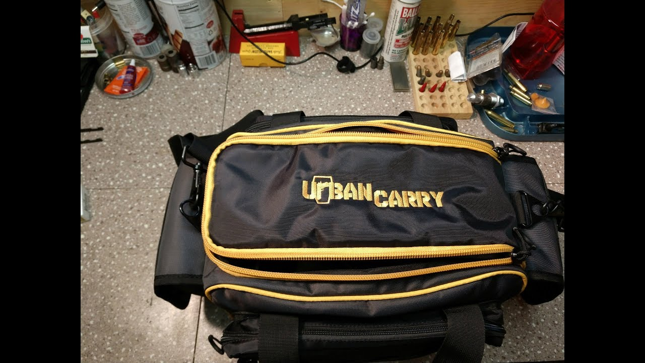 Urban Carry Heavy-Duty Nylon Range Bag