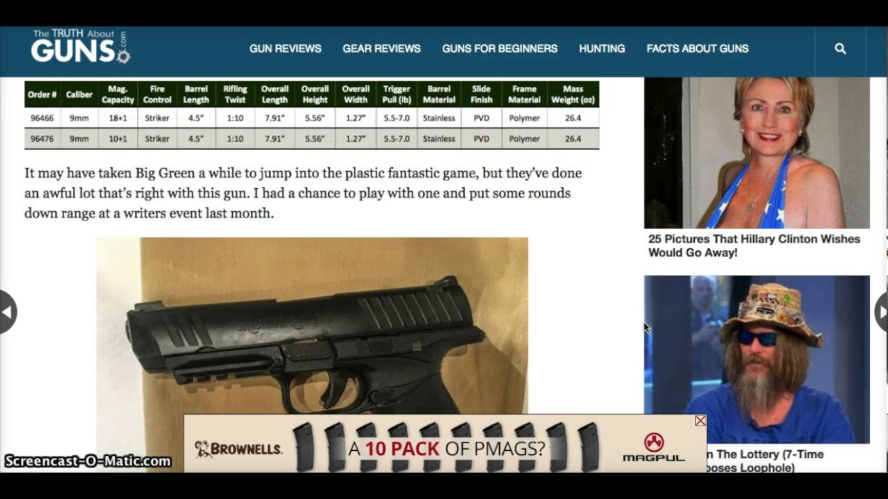 The Remington RP9.  All you need to know!  New Remington Pistol