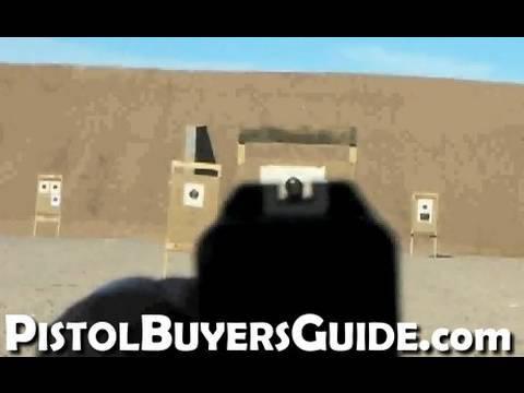 Shooting a Glock 17 POV
