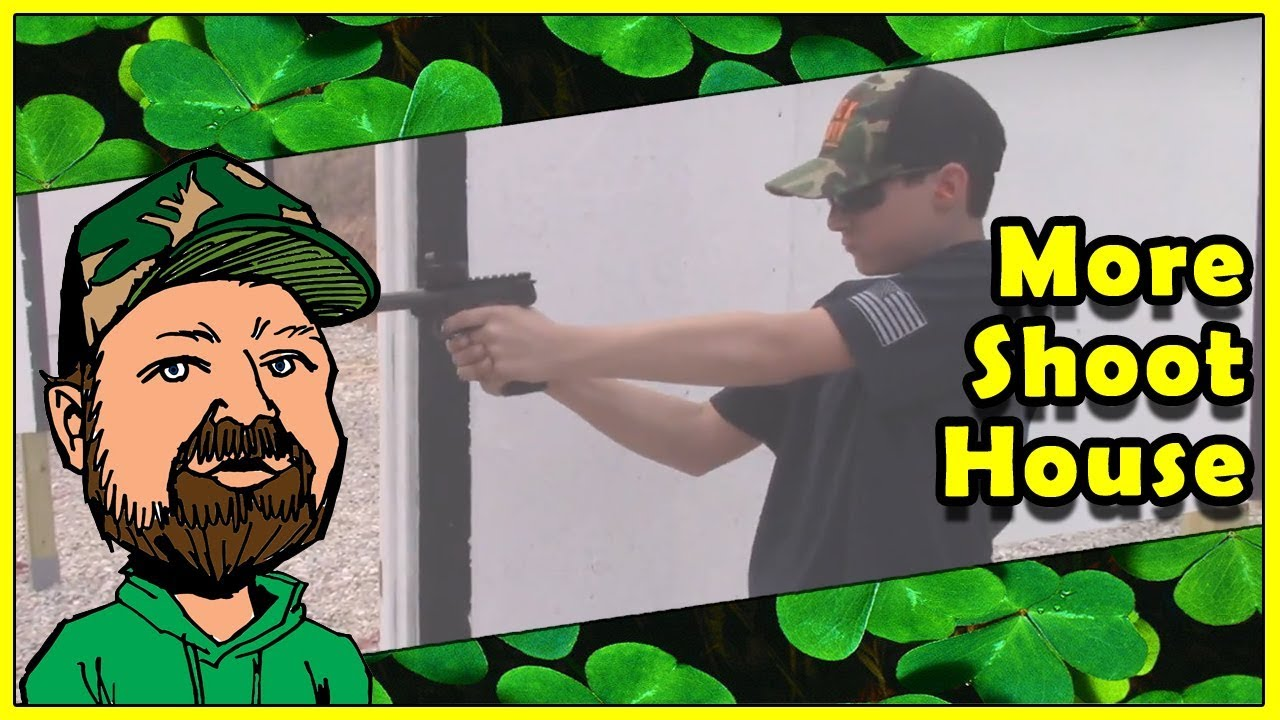 Kids Run & Gun With Browning Buckmark .22LR Pistols Through The Nomads Tactical Shoot House