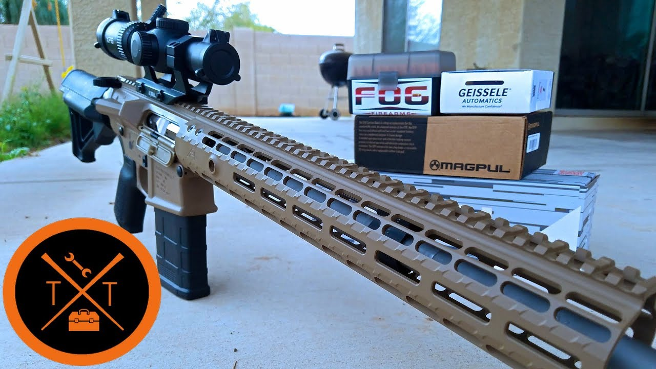 Aero Precision M5 AR10 .308 Build! ...(w/ Links & Codes)