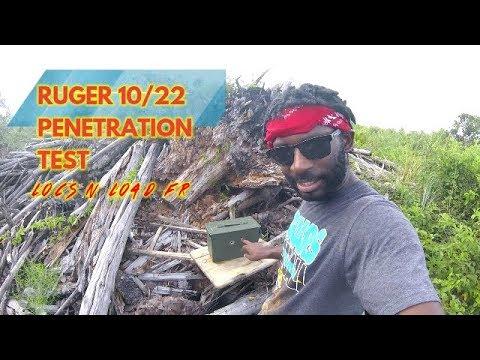 22LR PENETRATION TEST!!! PT.1