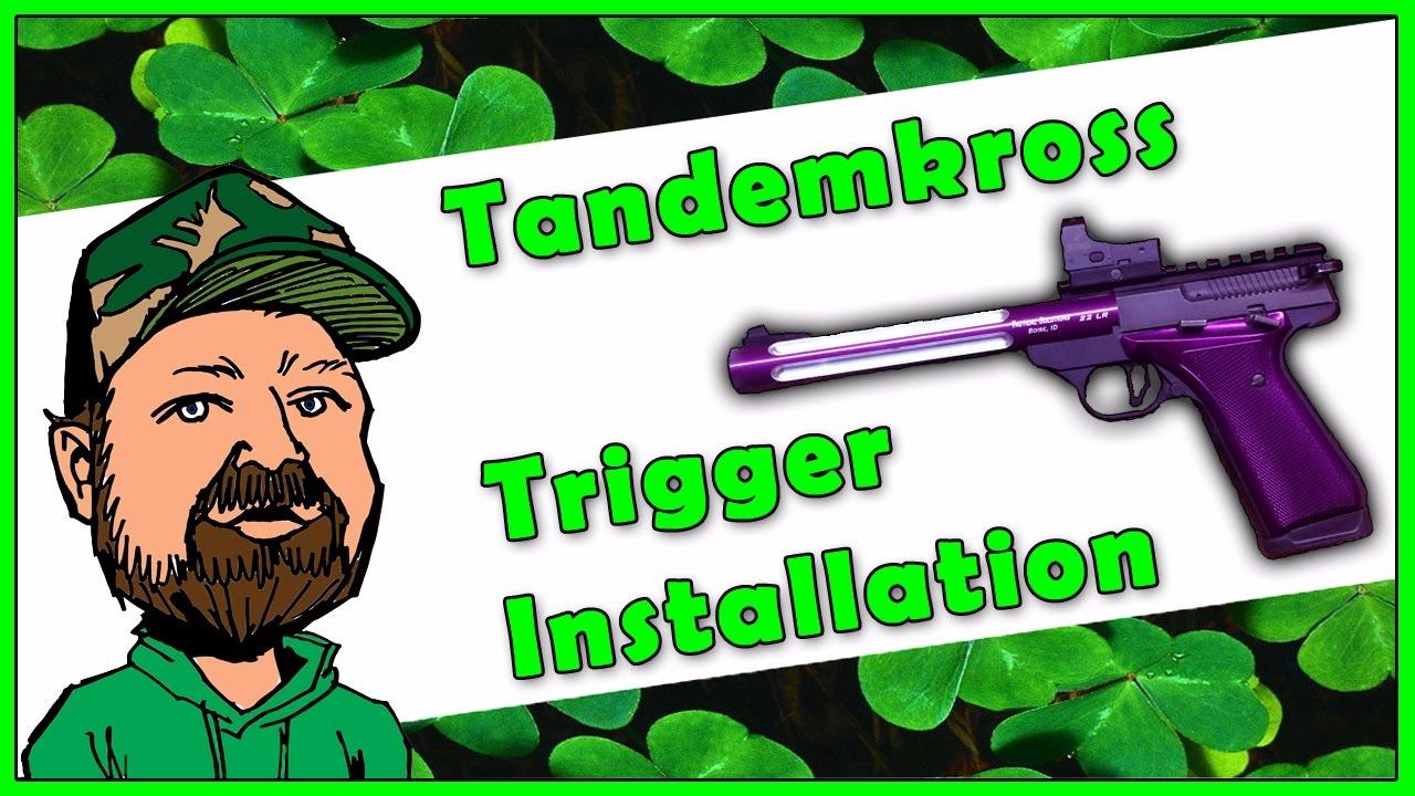 Browning Buckmark .22LR Pistol - Tandemkross Victory Trigger Shoe Review