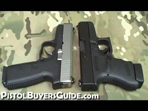 Glock 36 vs  Kahr CW45
