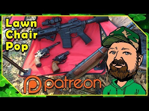 FN FAL 7.62x51 - March 2018 Patreon Lawn Chair Pop Replay (18:45 Time Stamp)