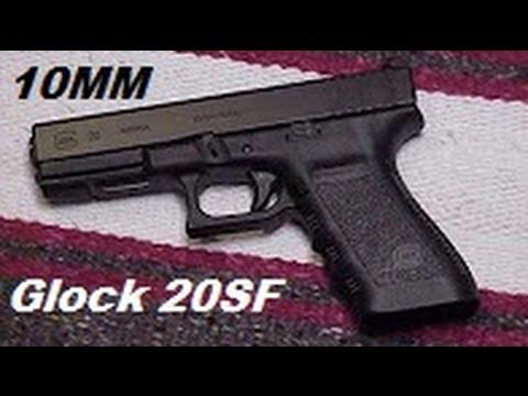 10MM Glock 20 SF Short Frame Pistol.