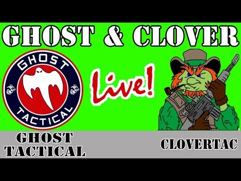 Ghost & Clover Live:  NRA Betrayal, How to Debate Anti-Gunners, & Teachers carrying Guns