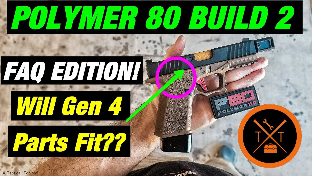 Polymer 80 Glock 19 Build 2!! // SECRET TRICKS!