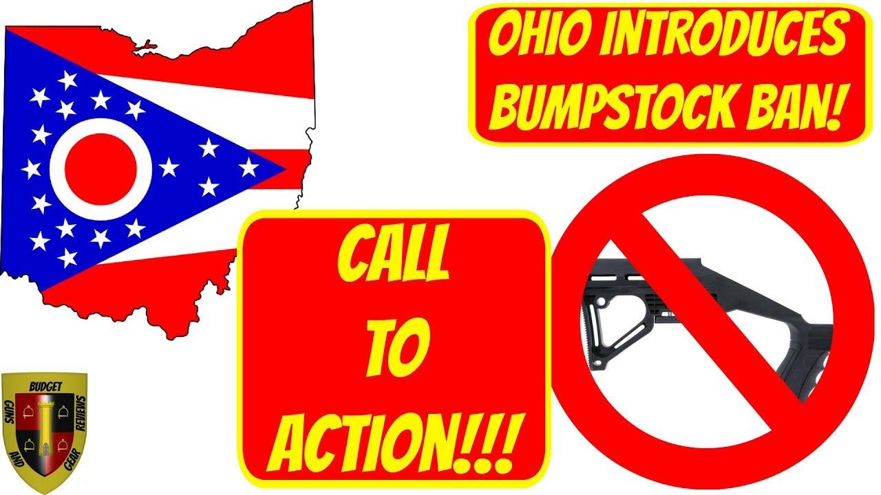Ohio Senate introduces bumpstock ban- Call to Action!