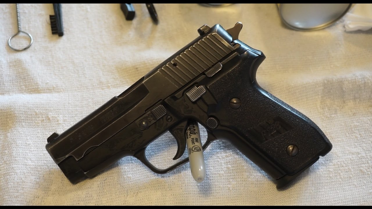 Sig Sauer P228 disassembly and cleaning!