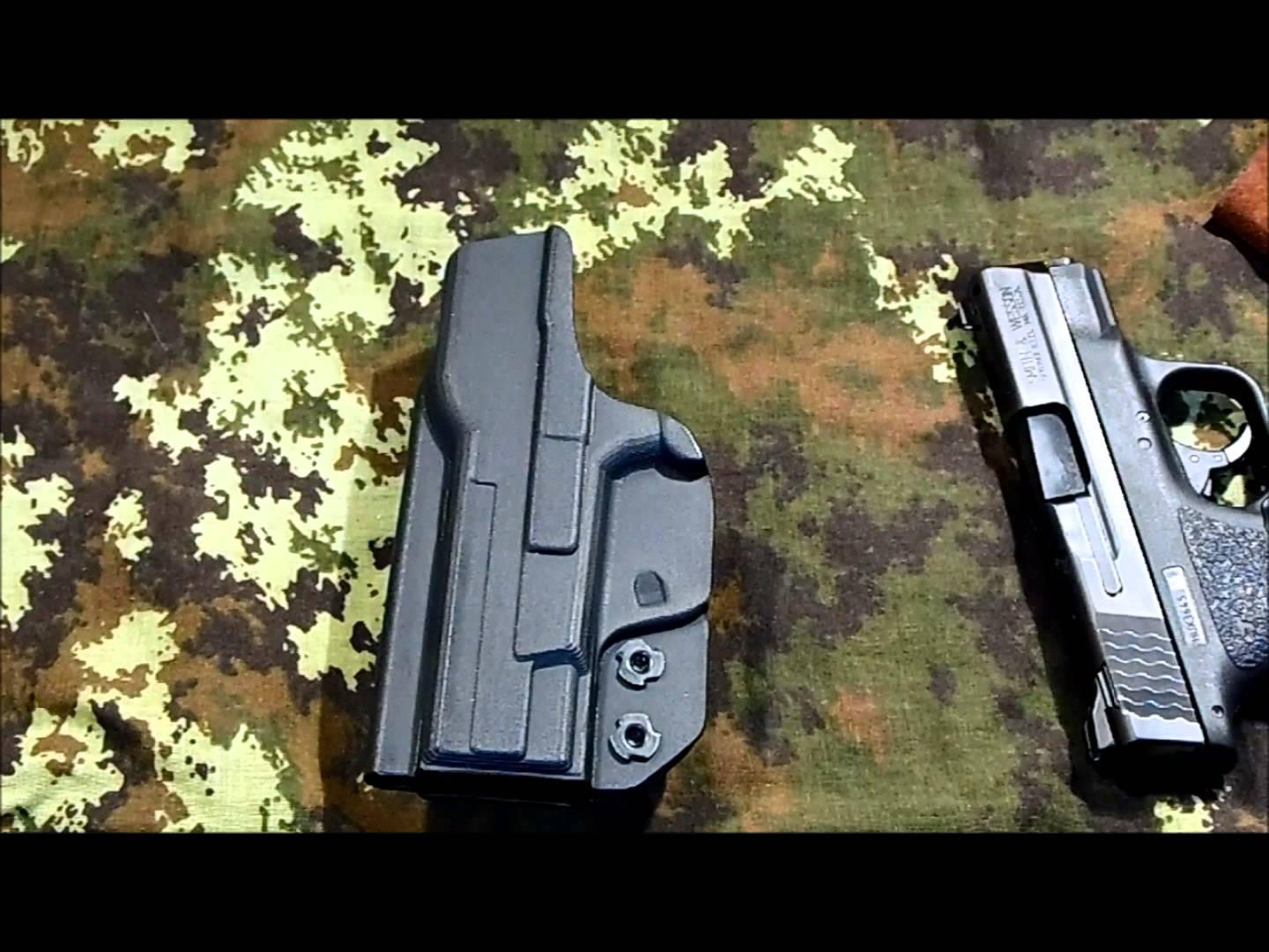 comp  tac infedel max  S&W shield  holster overview