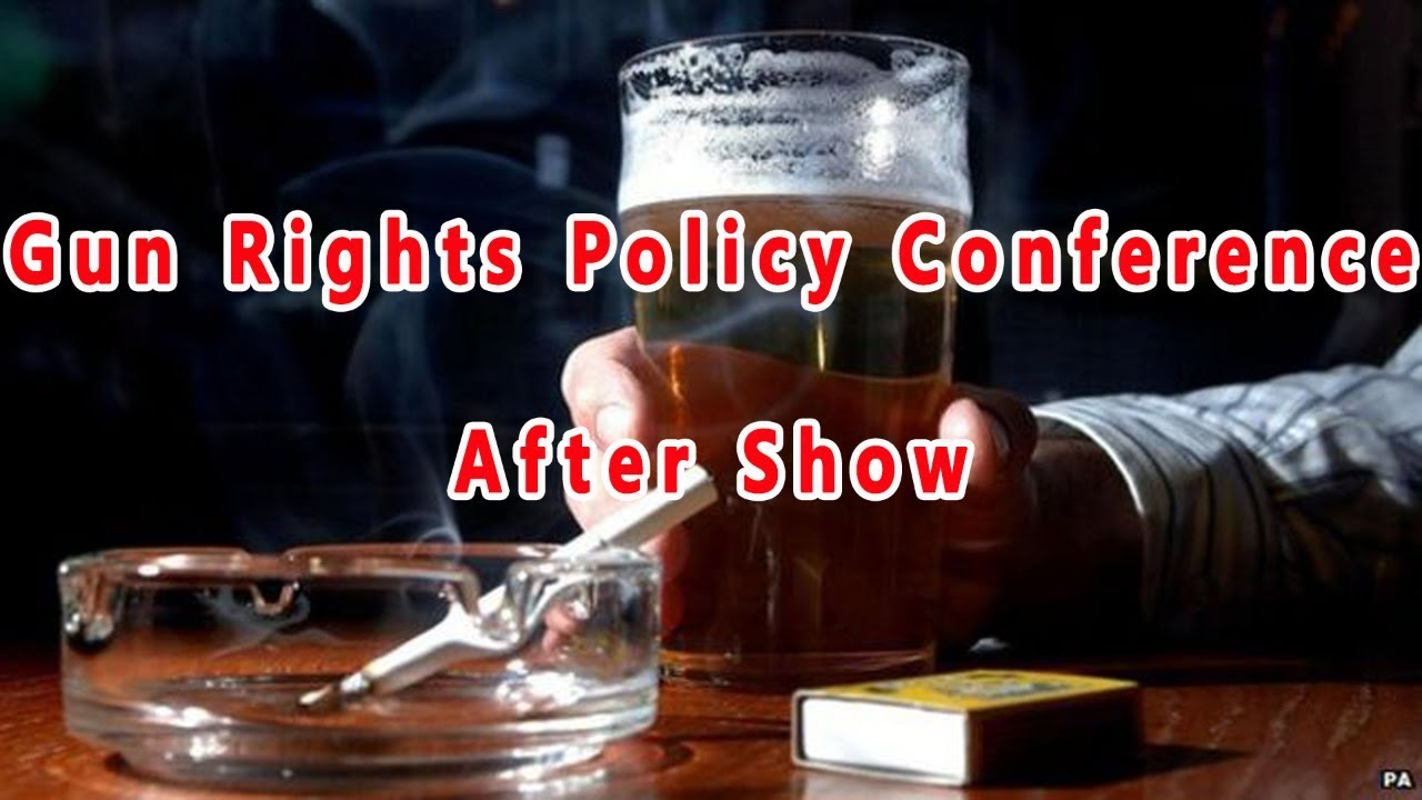 Gun Rights Policy Conference After Show Live Chat