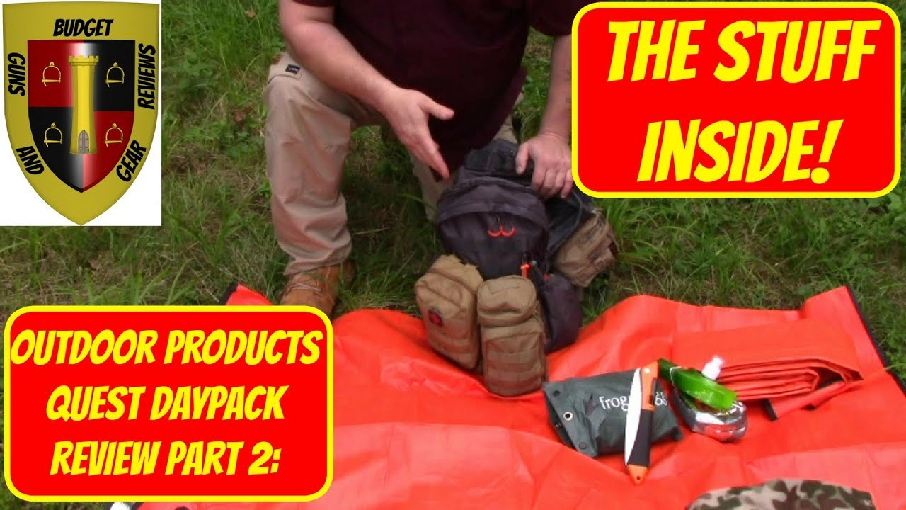 Quest Daypack full review Part 2