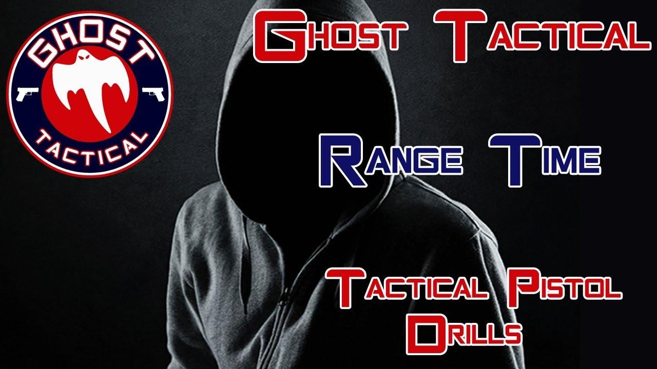 Range Time:  Tactical Pistol Drills