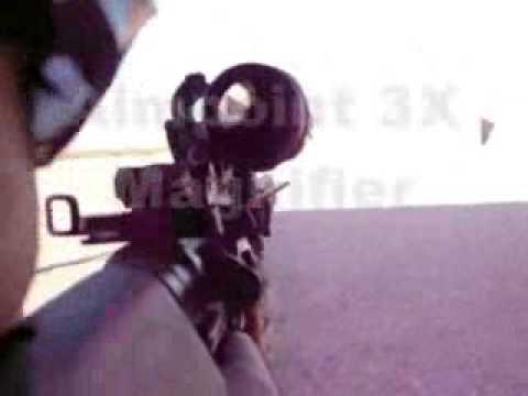 Aimpoint 3X Magnifier w/ LaRue QD Pivot Mount