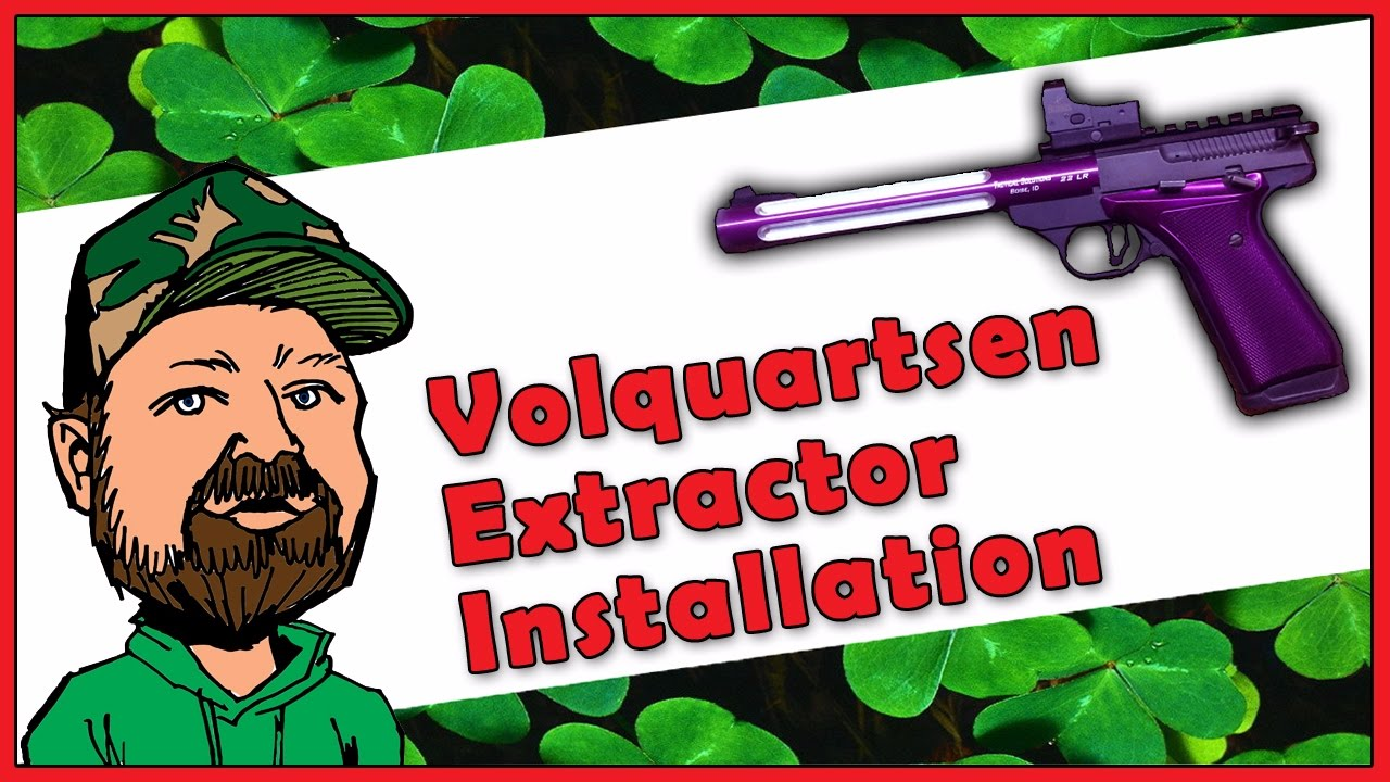 Browning Buckmark .22LR Pistol - Volquartsen Extractor Upgrade Installation Tutorial