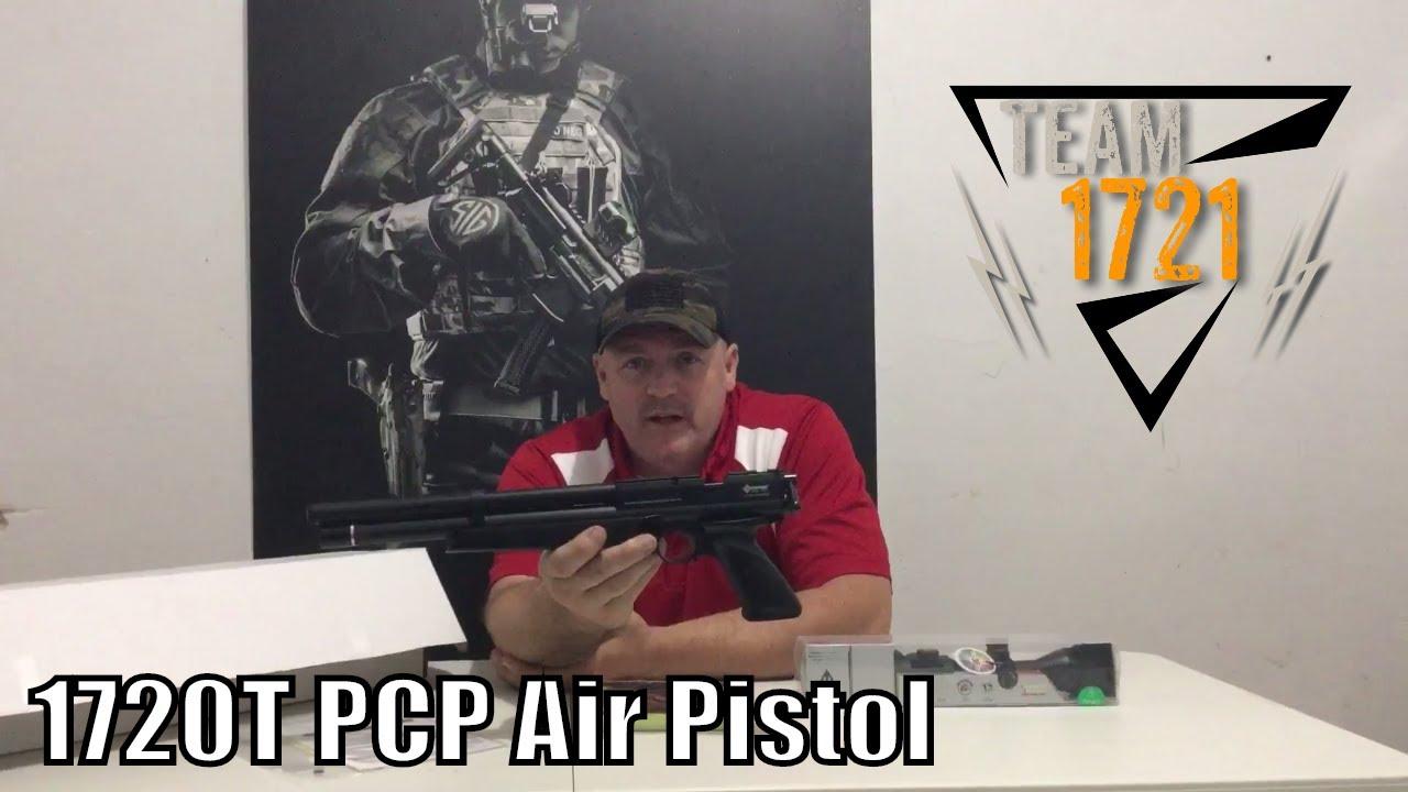 Unboxing The Crosman 1720T PCP Air Pistol
