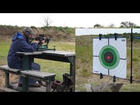 Bear Creek Arsenal range and accuracy test with steel case ammo and Vortex Strikefire 2