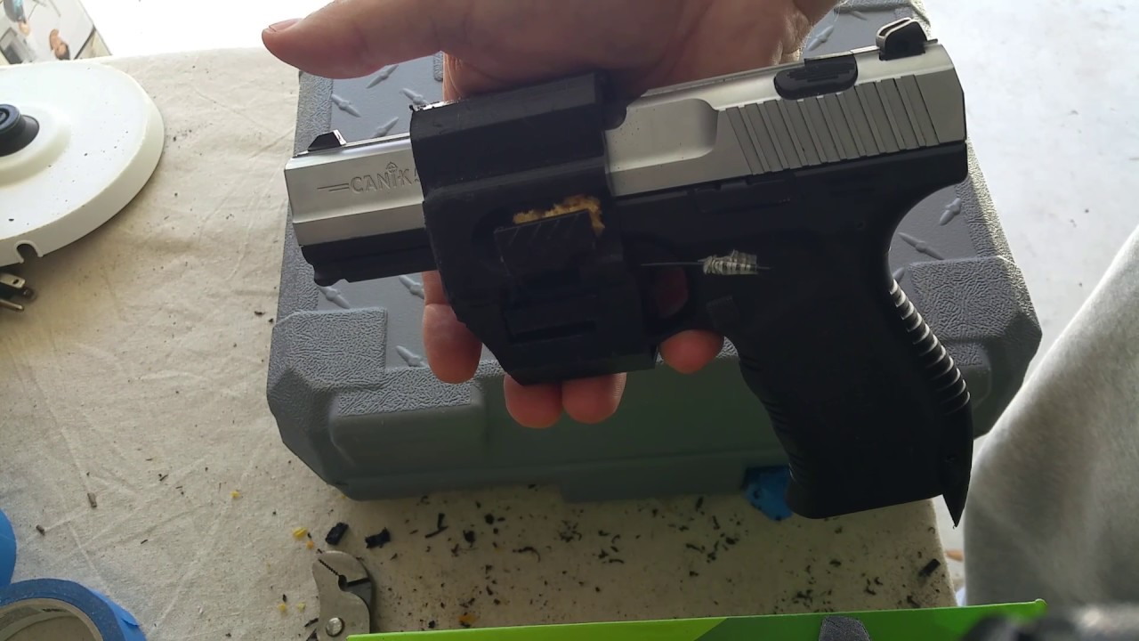3D Print Canik Holster for Lefties