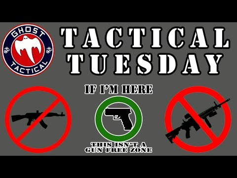 How to be Pro-Gun in an Anti-Gun World & 2A Capitol Rallies:  Tactical Tuesday #31:  Ghost Tactical