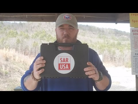 My New Toy! SAR9 from SAR USA:  LIVE Unboxing and Reveal at the Range