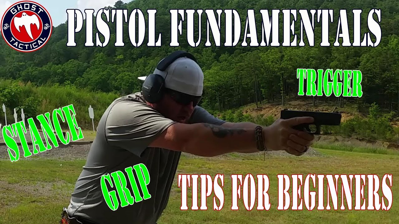 Beginners Guide to Shooting a Pistol:  Basic Fundamentals:  Range Lessons with Ghost