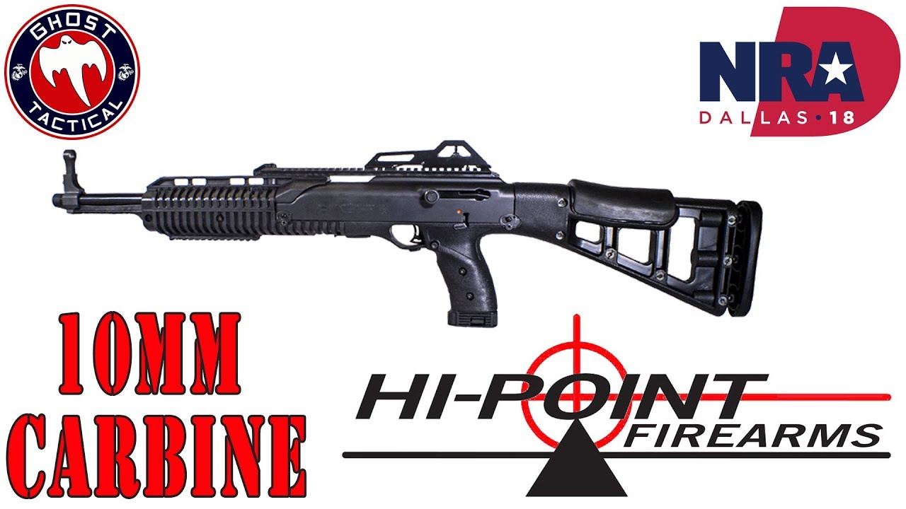 Hi-Point Firearms 10mm Carbine Review:  May Be The Best Carbine for the Money:  NRA Show 2018