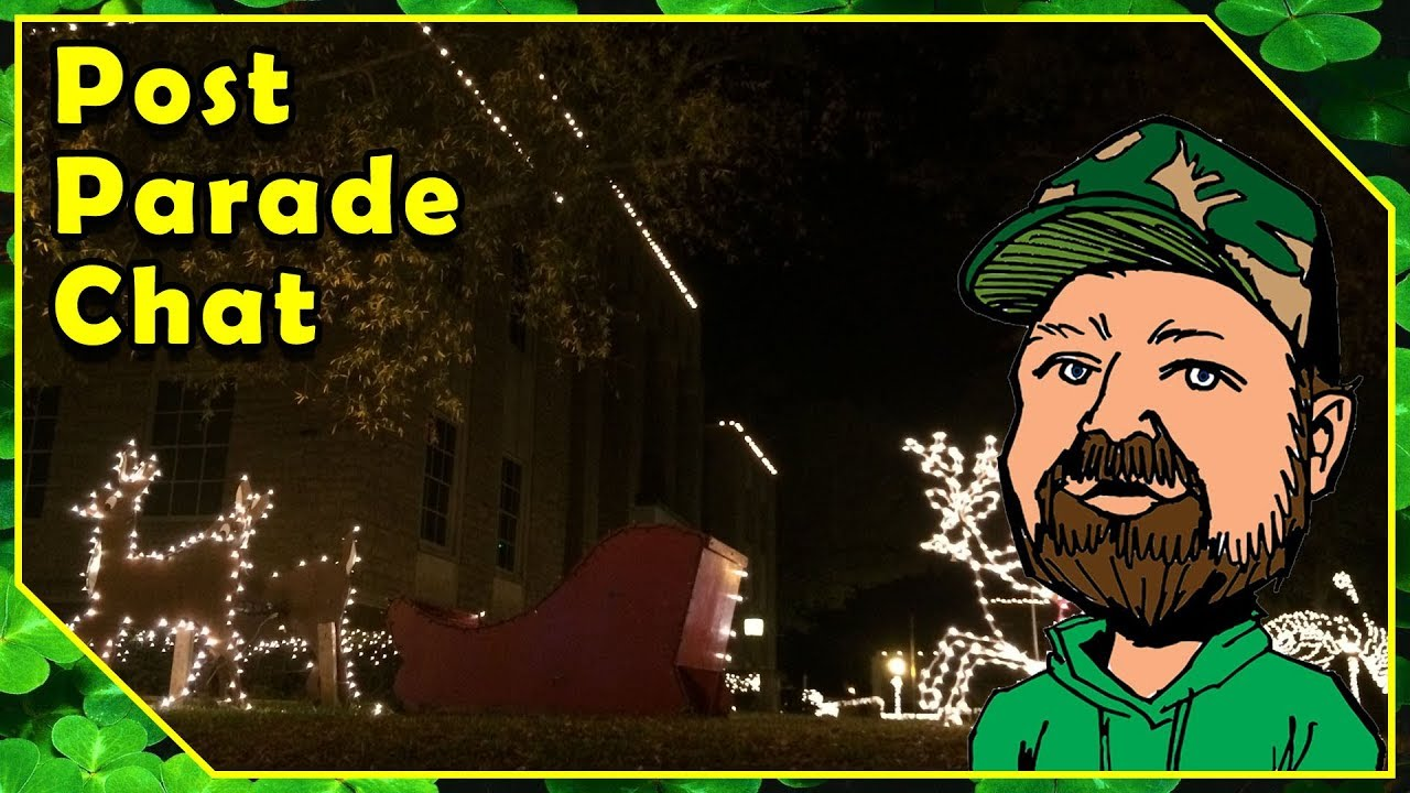 Christmas Chat - Rusk Texas Parade & Courthouse Christmas Light Walk 2017