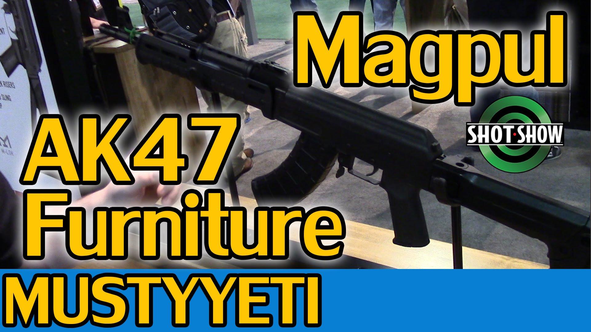 Magpul AK Furniture | Shot Show 2015 | Musty Yeti
