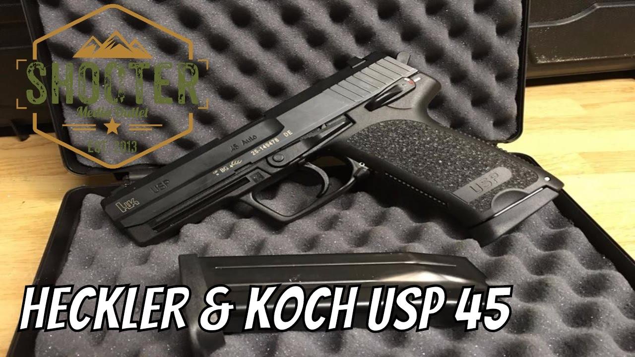 Heckler & Koch USP 45 Unboxing
